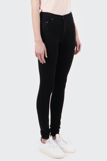 NOBODY DENIM Cult Skinny Jeans - power black
