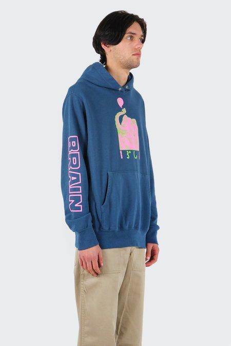 Brain Dead Dumbo Hoodie - Indigo