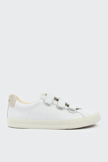 Unisex VEJA Esplar 3 Locks Leather - extra white