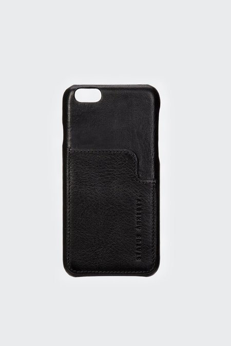 Status Anxiety Hunter And Fox iphone 7/8 Case - black