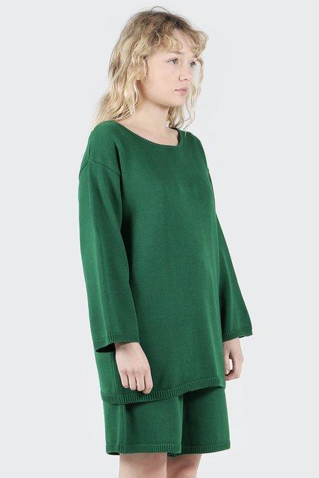Kowtow Lakeside Sweater - evergreen