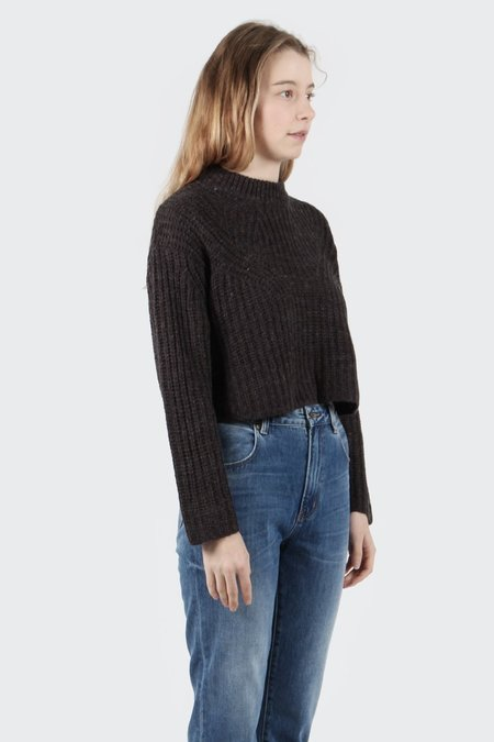 Native Youth Neoma Knit Sweater - Charcoal