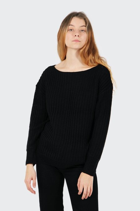 The Fifth Off Duty Knit Sweater - black