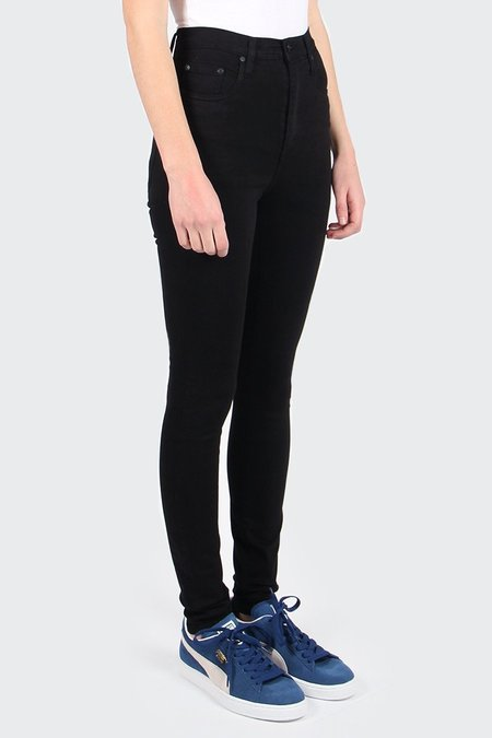NOBODY DENIM Siren Skinny Jeans - power black