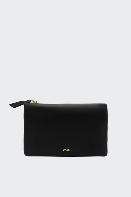 Wos Small Sensation smooth Wallet - black