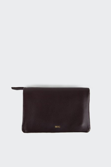 Wos Small Sensation Wallet - Oxblood