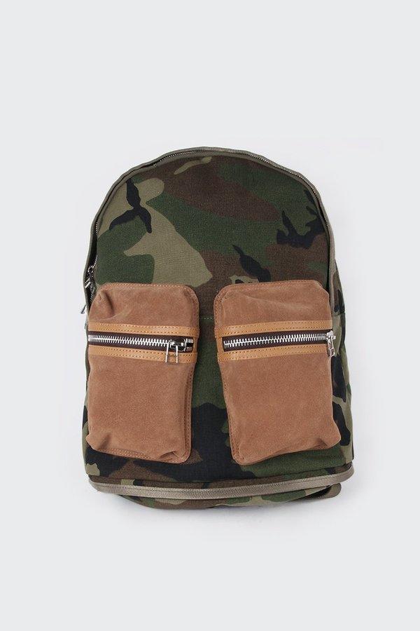 Taikan Everything Spartan Backpack - cordura camo/tobacco suede
