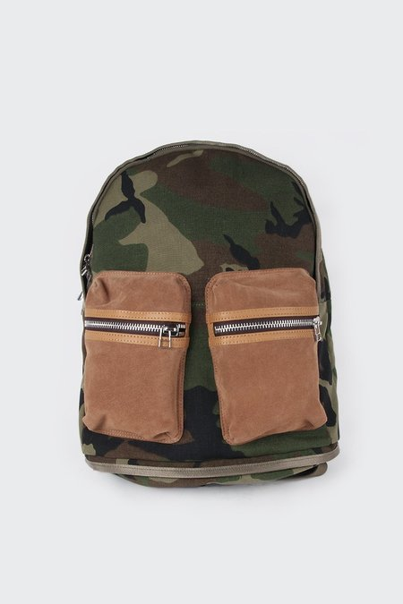 aa3ef0a2676 ... TAIKAN EVERYTHING Spartan Backpack - cordura camo tobacco suede