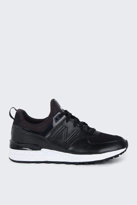 New Balance 574 Sport WS574SFH - Black/White