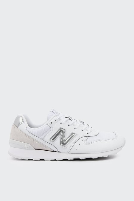 New Balance 996 White Out - White/Silver