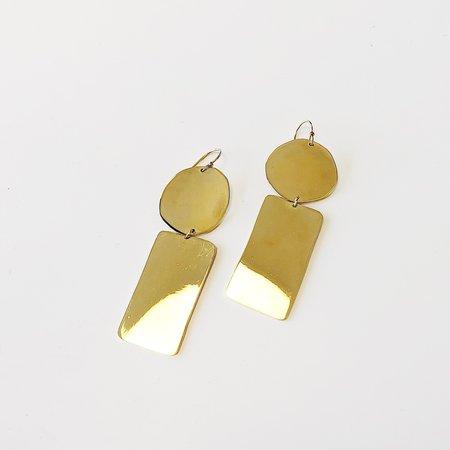 Lane Walkup Etet Earrings - Gold