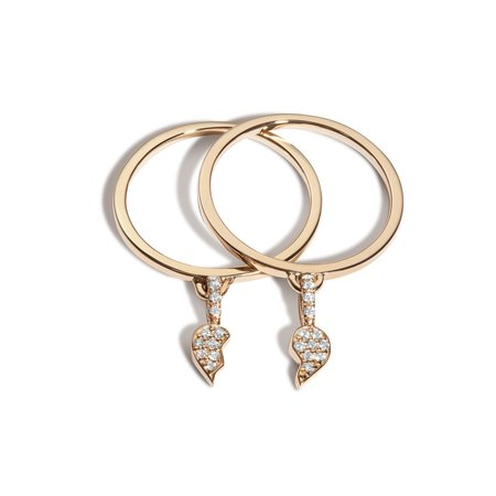 Shahla Karimi BFF Ring Set