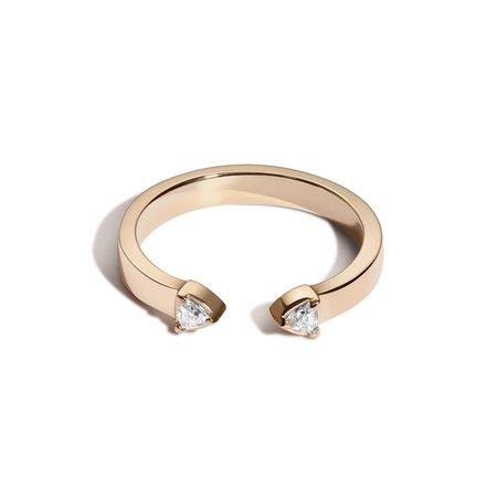 Shahla Karimi Flatiron Ring
