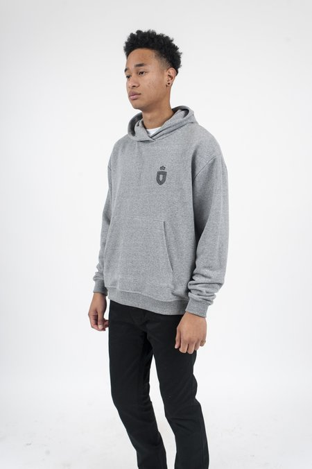 John Elliott Oversized Cropped Strength and Conditioning Hoodie