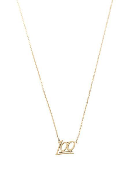 In God We Trust Gold 100 Necklace