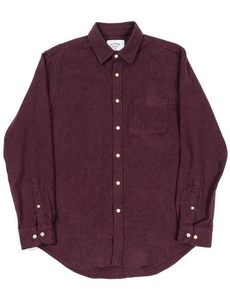 Portuguese Flannel Bordeaux Teca Shirt