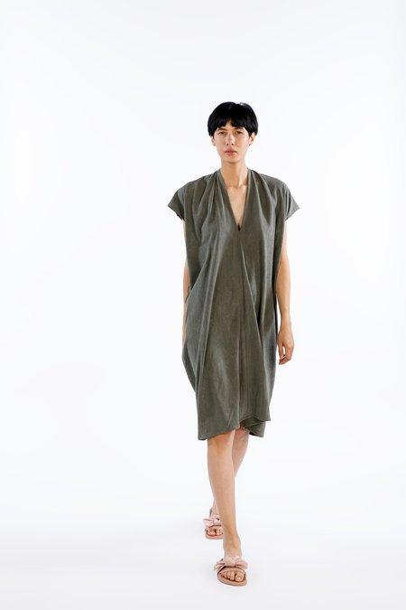 Miranda Bennett Ed. VIII Everyday Dress - Silk Noil in Savannah