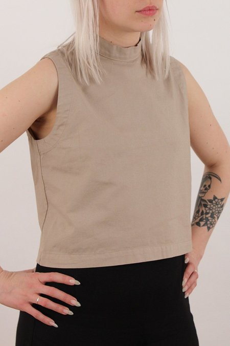 Micaela Greg Mock Neck Tank