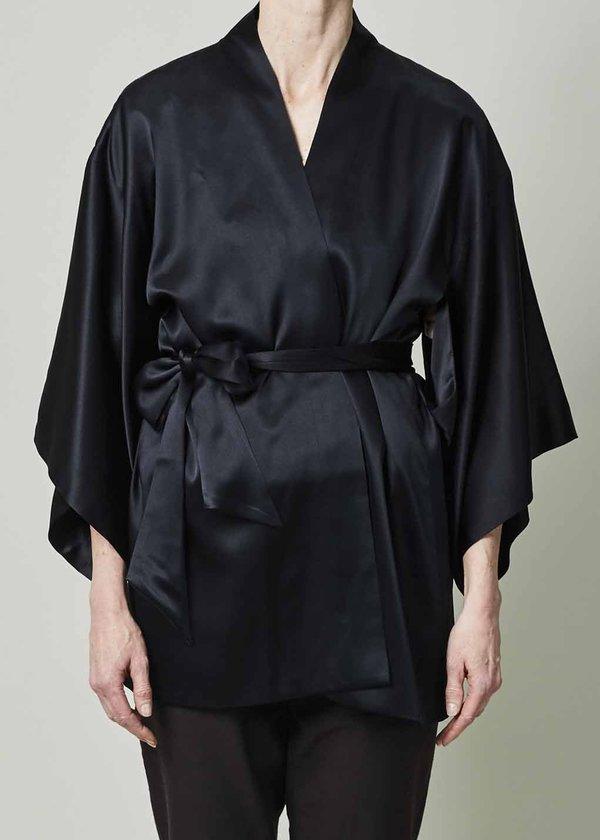 VOZ Silk Charmeuse Kimono