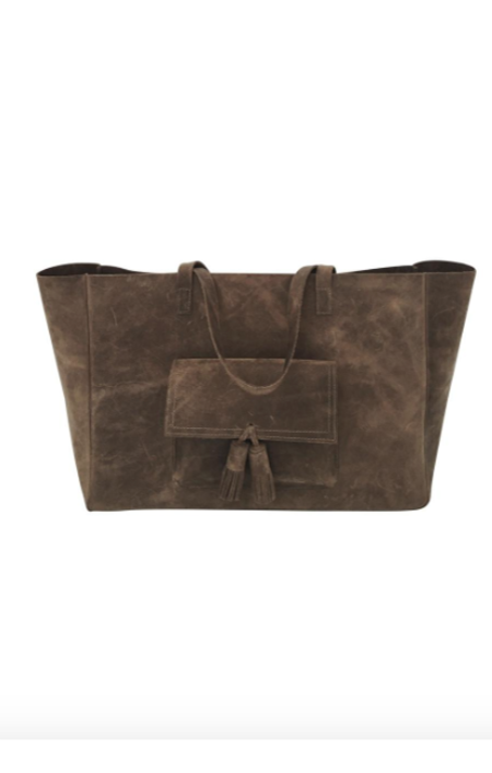 Sunday Supply Co. Margaret Carry All Tote - Chocolate