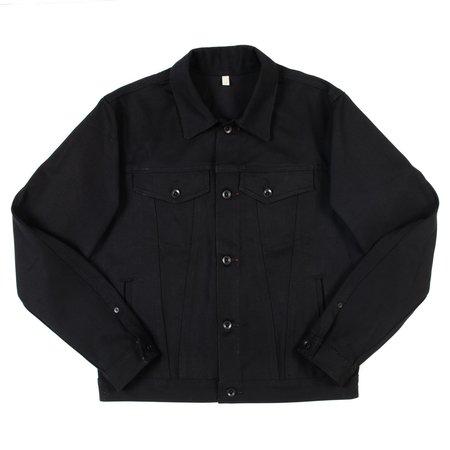 Raleigh Denim Workshop Denim Jacket - Black Cone Denim