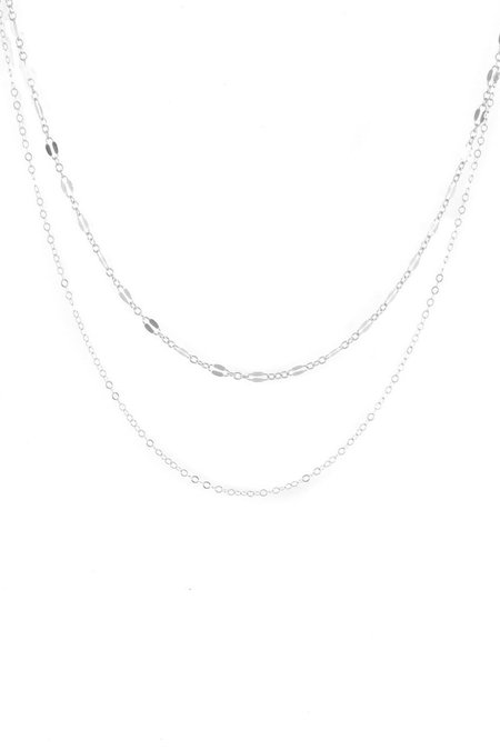 Wolf Circus Whitney Layer Necklace - Silver
