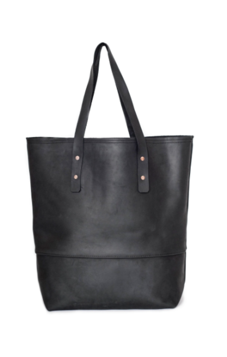 Sunday Supply Co. All Leather Mills Tote - Black