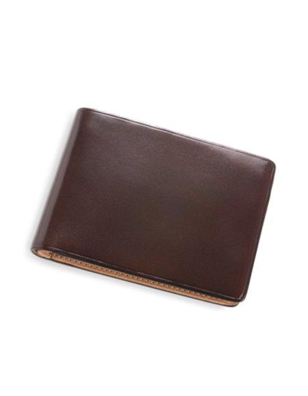 Il Bussetto Dollar Sized Wallet Dark Brown