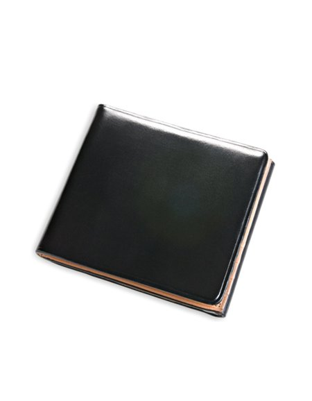 Il Bussetto Trifold Wallet Black