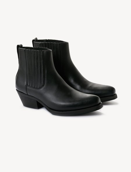 Our Legacy New Cuban Boot - Black Anilin