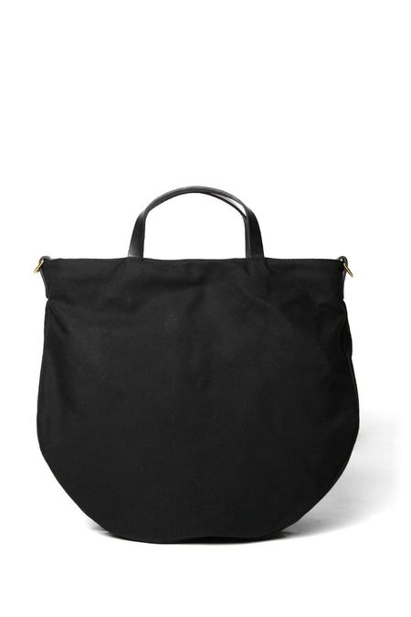 Open Habit Half Moon Bag - Black
