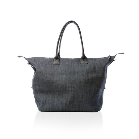 Unisex Marie Turnor The Bravo Satchel - Japanese Denim
