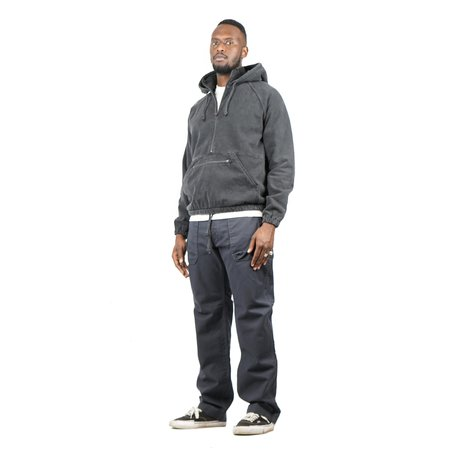 Remi Relief SP Finishirt Fleece Anorak Hoodie - Black