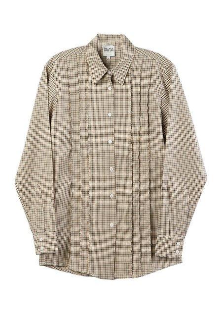 Da/Da Diane Ducasse Pattern Shirt - Beige