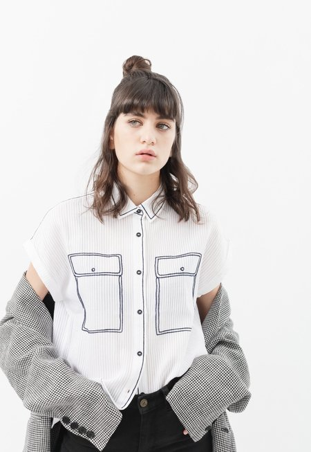34n Embroidered Shirt