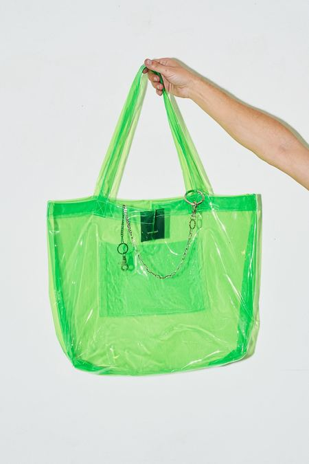 Assembly New York Large Vinyl Tote - Green