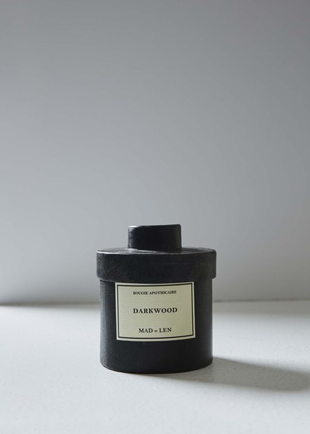 Mad et Len Bougie Apothecare Darkwood Candle