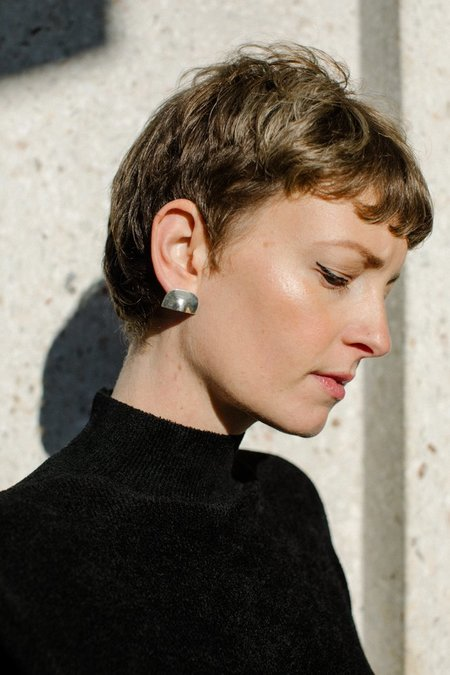 Quarry Rone Earrings - Sterling Silver