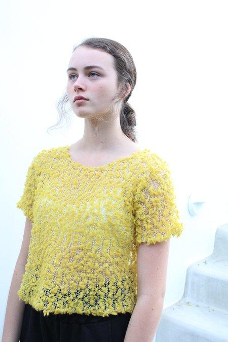 Samuji Waheed Sweater Pom Pom Yellow