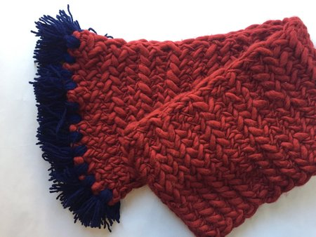 House of Knot Herringbone Scarf