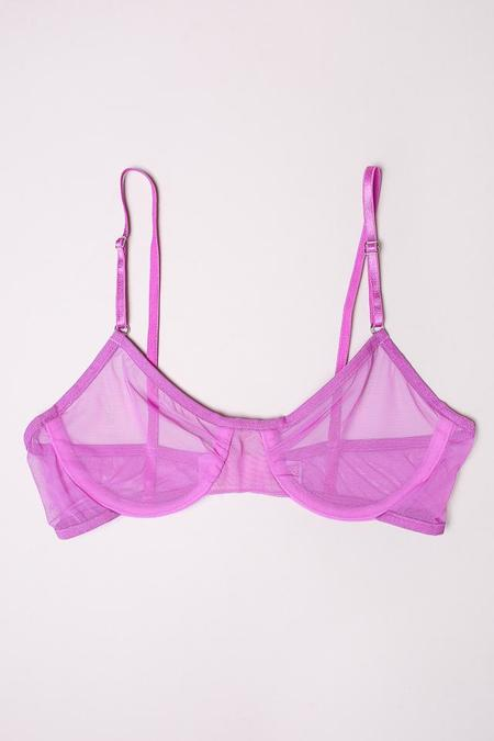 Only Hearts Whisper Underwire Bra in Orchid