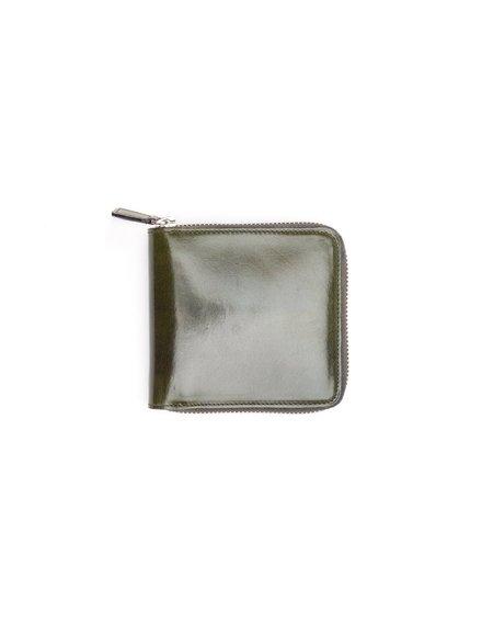 Il Bussetto Square Zip Wallet - Dark Green
