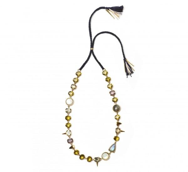 Lizzie Fortunato Black Iris Necklace