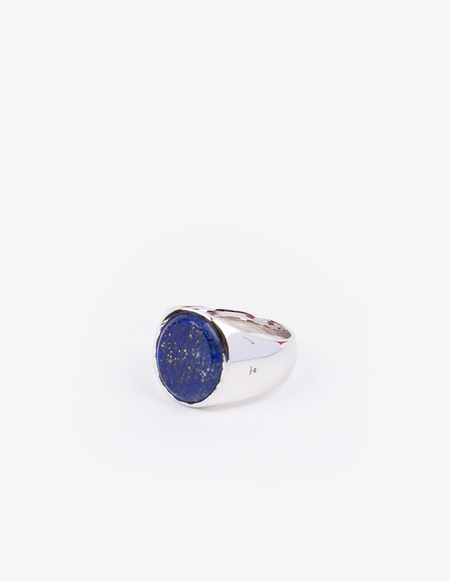 Tom Wood Oval Blue Lapis Ring