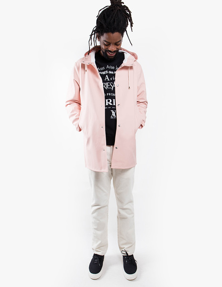 Stutterheim Stockholm Raincoat - Pale Pink