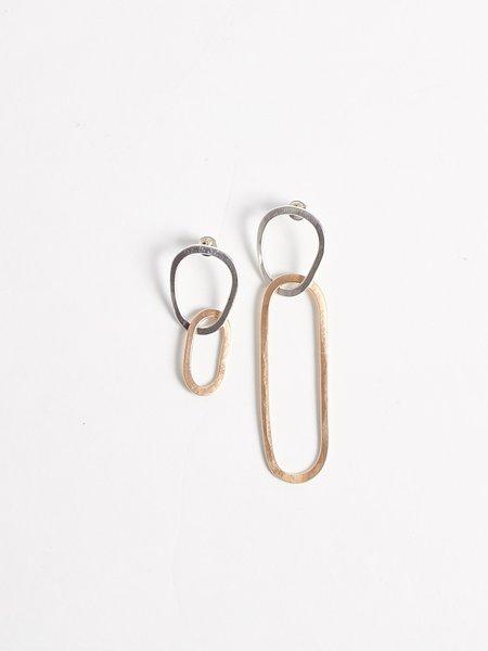 Lila Rice Marta Link Earrings