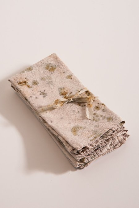 Samantha Verrone Napkin Set - Rust/Avocado