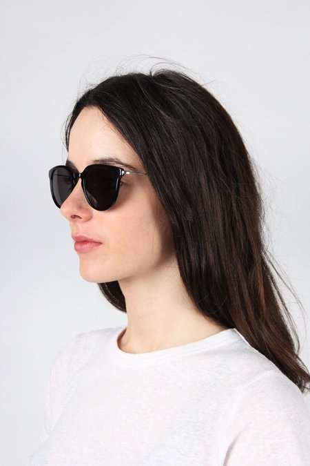 Unisex Kaibosh Biblio Sunglasses - Solid Black