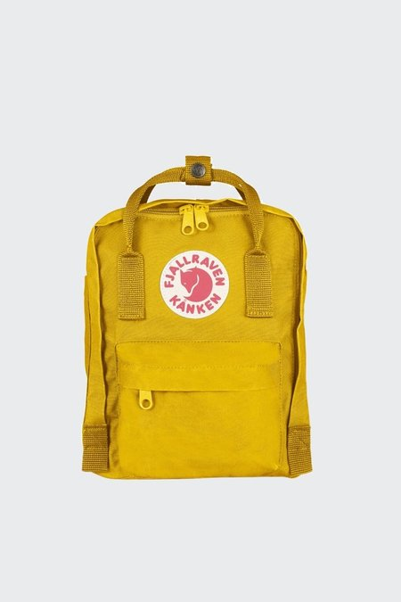 Unisex Fjallraven Mini Kanken Backpack - Warm Yellow