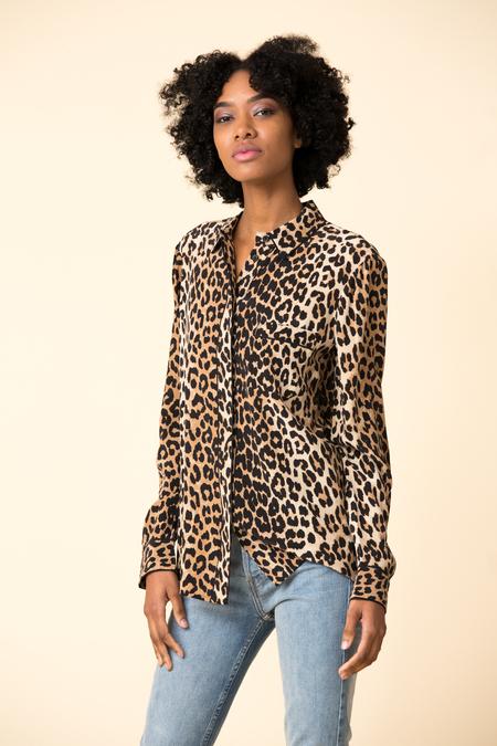 Ganni Fayette Silk Shirt